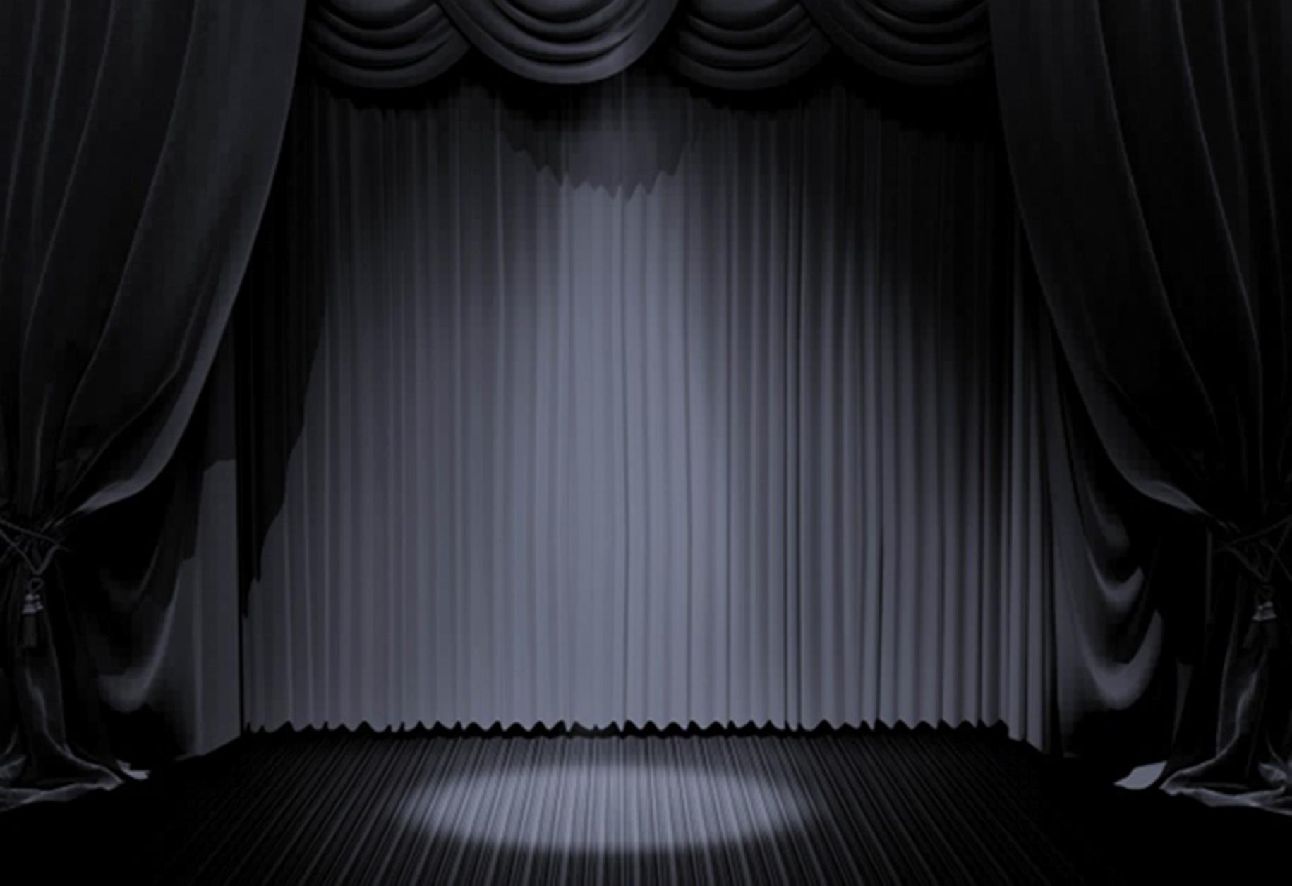 Black Curtain 3ziohauaok