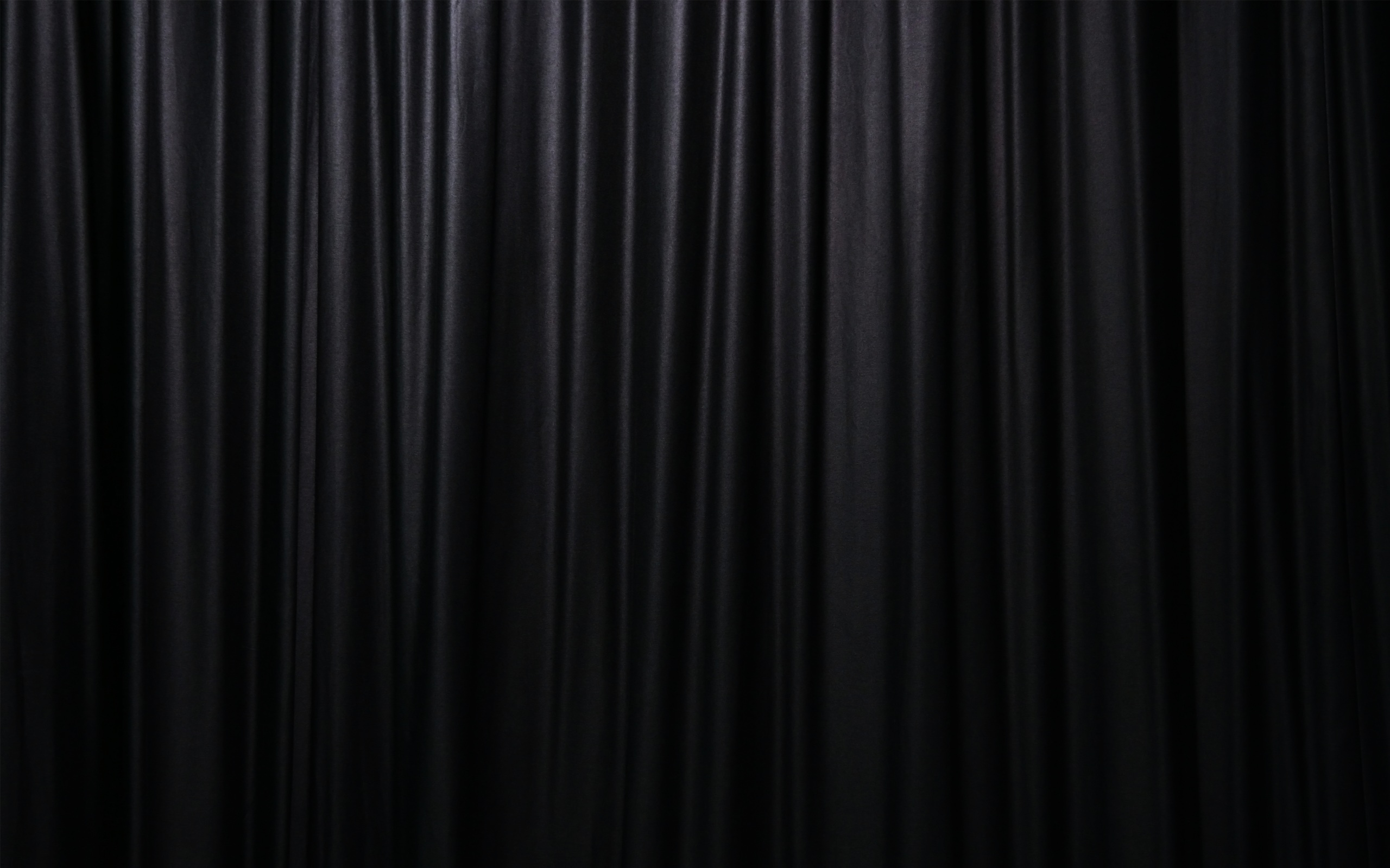 Curtain Blind Black Background